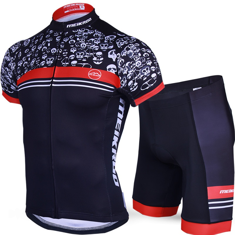 Ghost Guest Cycling Jeresey Sets Suits Short Sleeve Clothing Equipment Tights Ropa Ciclismo Bicileta Bike Maillot MTB Bike