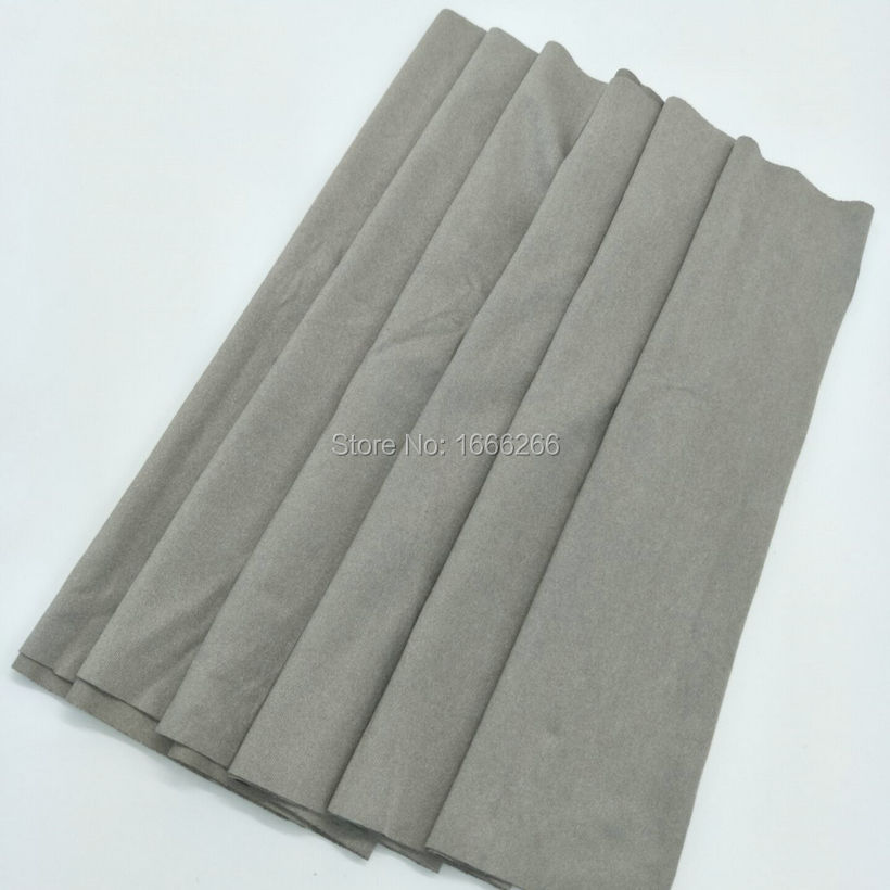 High quality fabric made of silver fiberHigh quality fabric made of silver fiber