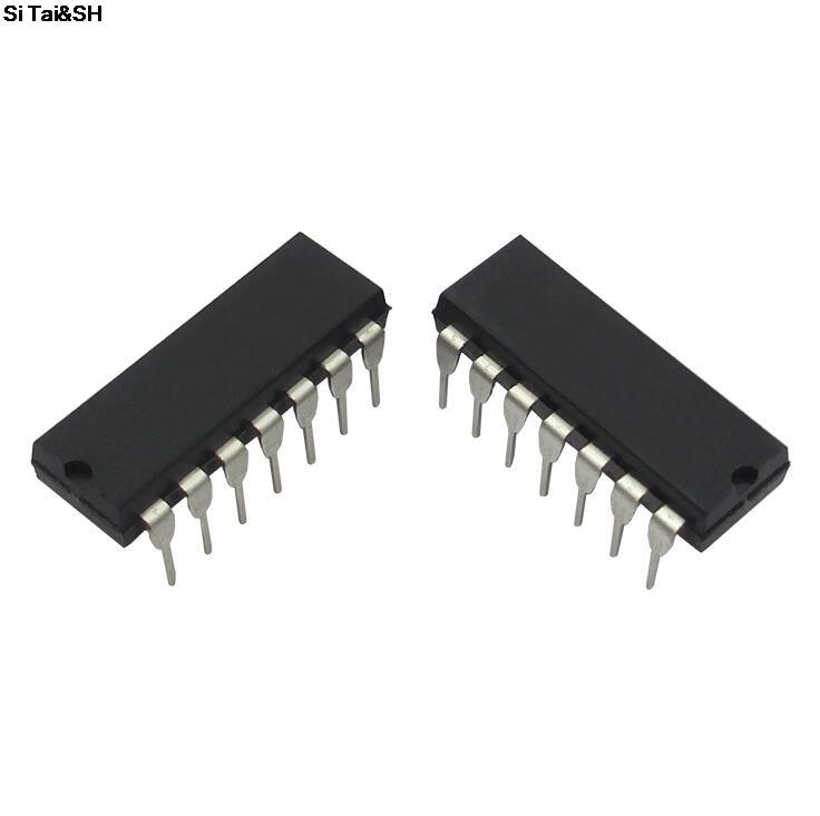 10pcs 254mm 14 Pins Ic Dip Integrated Circuit Sockets Adaptor Alex