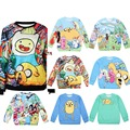 [You're My Secret]Women Hoodies O-Neck Long Sleeve 3D Printed Sweatshirt Whit The Adventure Time Of Cartoon Casual  Suit
