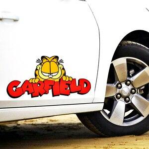 Автомобильные аксессуары Aliauto забавная наклейка для автомобиля Garfield наклейка для BMW X1 X3 X5 1 серия 3 серия 5 серия 7 серия/M серия Opel Smart