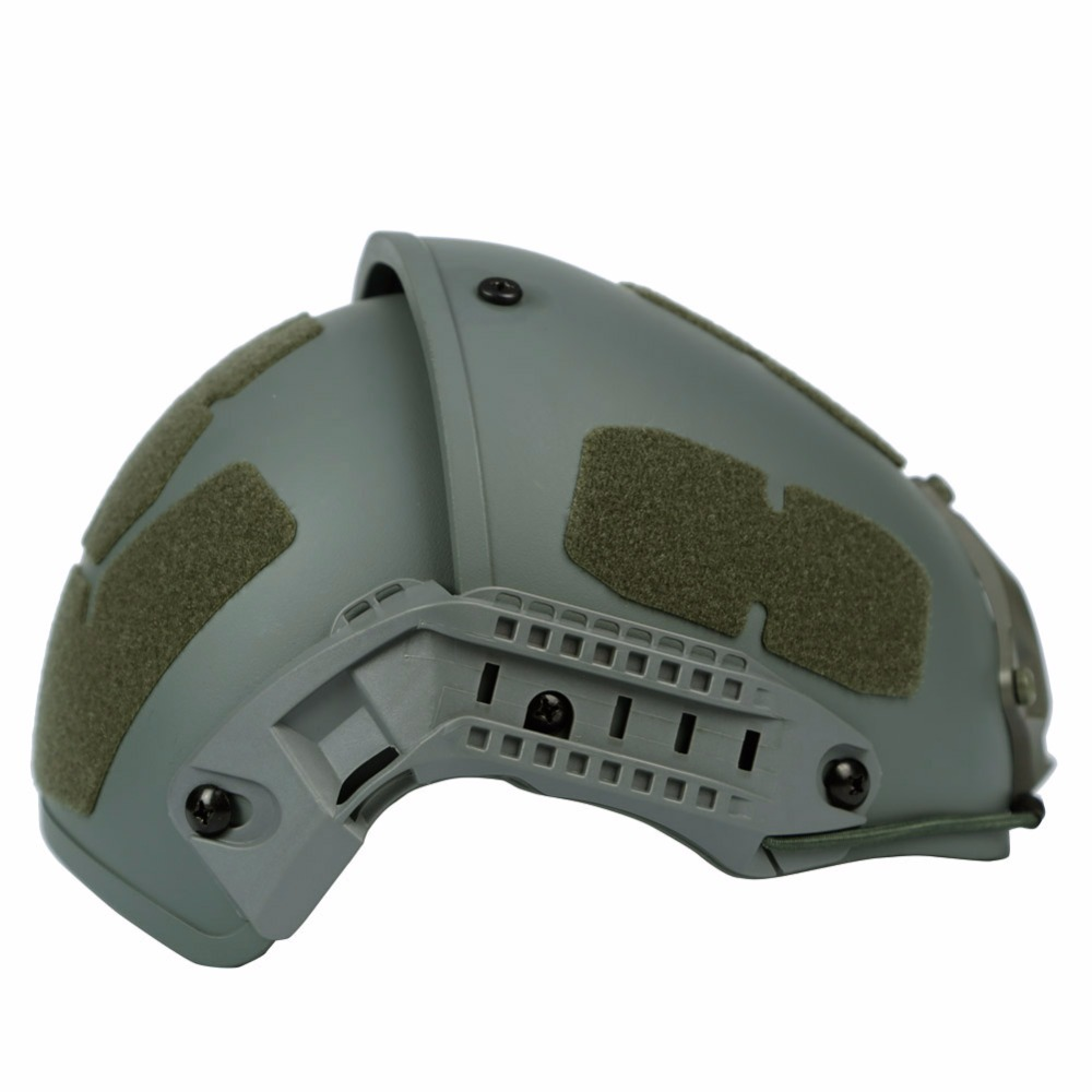 WoSporT Casque Tactique WST-AF Type Militaire Airsoft Casque ABS Robuste Armée Chasse Paintball Casque RAPIDE