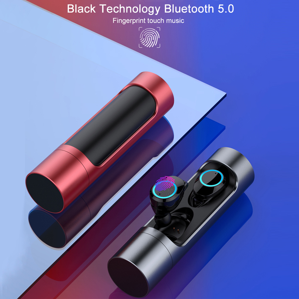 <font><b>X8</b></font> Touch Control <font><b>TWS</b></font> <font><b>Bluetooth</b></font> 5.0 <font><b>Earphone</b></font> Mini Wireless <font><b>Earphones</b></font> Headphones Sports Headset with Mic IPX7 Waterproof Earbuds image