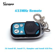 Sonoff 433MHz RF Wireless Remote Controller Touch Switch 4CH Pro Electric Control Car Key