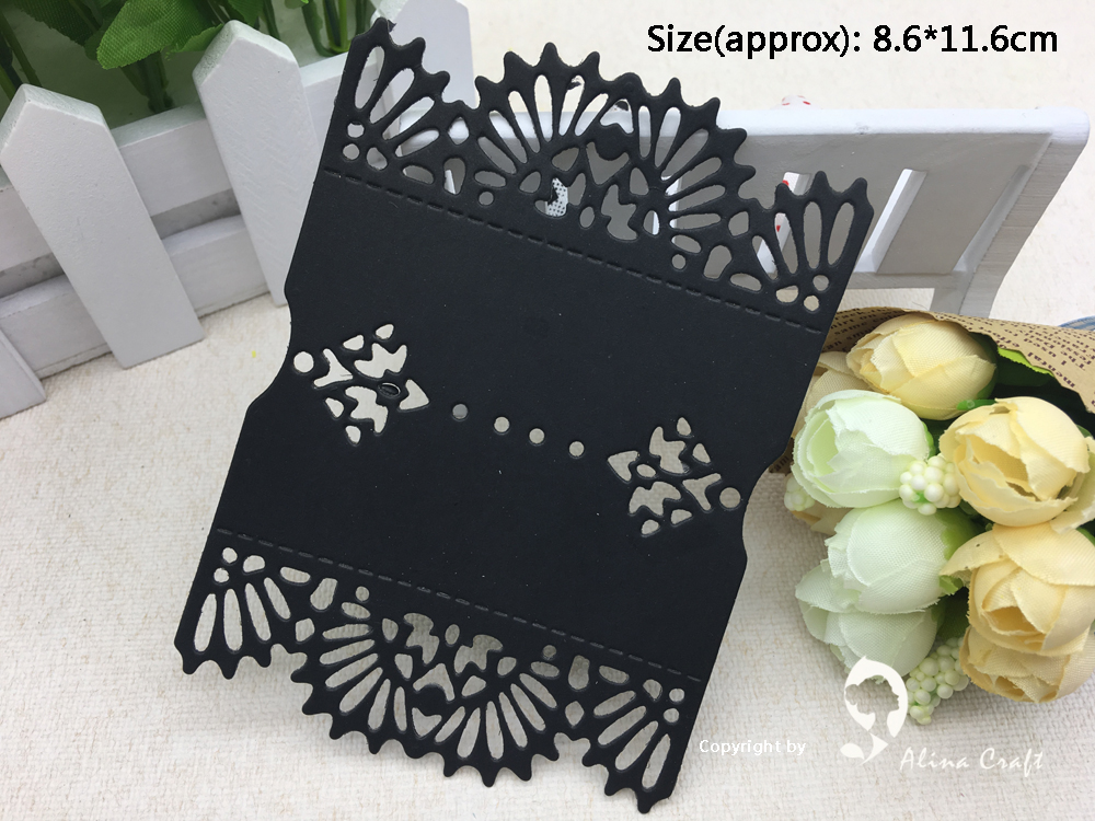 AlinaCraft METAL CUTTING DIES flower background mold cutter Scrapbooking PAPER CRAFTER album card punch emboss stencils