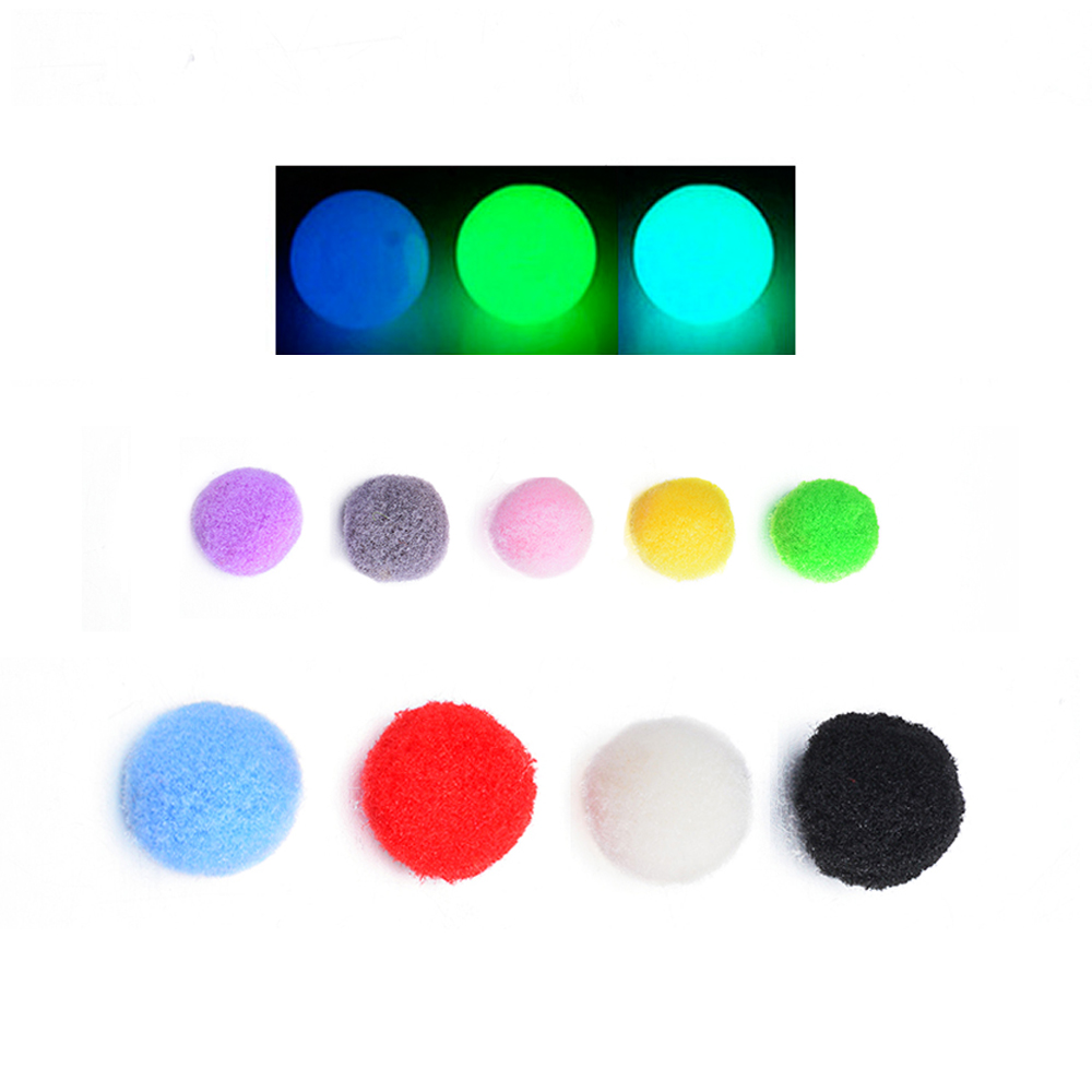 1pack <font><b>10mm</b></font> 16mm Round Colorful Pompon <font><b>Felt</b></font> Ball Refill Ball Beads For Bracelets Or Essential Oil Diffuser Necklace image
