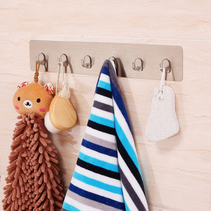 Wall Mounted Kitchen Storage Hooks/Broom Mop Wall Holder Rack Hook Hanging Hook Chopping Block Rack Shelf/Wall Mounted