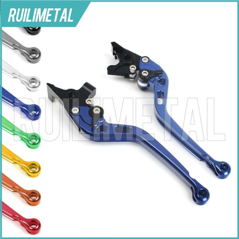 Adjustable long straight Clutch Brake Levers for MV AGUSTA BRUTALE 990 R 2013 2014 2015 2016 F4 1000 312R 2007 2008 2009 adjustable cnc 3d folding brake clutch lever for mv agusta brutale 990 2010 2012