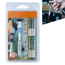 Высококачественный прецизионный магнитный Набор отвёрток с режущей кромкой Destornillador Tournevis для iPhone X 8 7 6 5 5s iPad набор инструментов для ремонта телефона