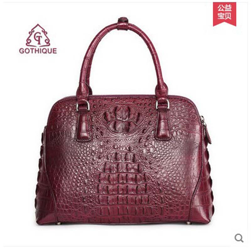 gete new alligator bag women handbag crcodile skin bag lady bag 2017 new arrval