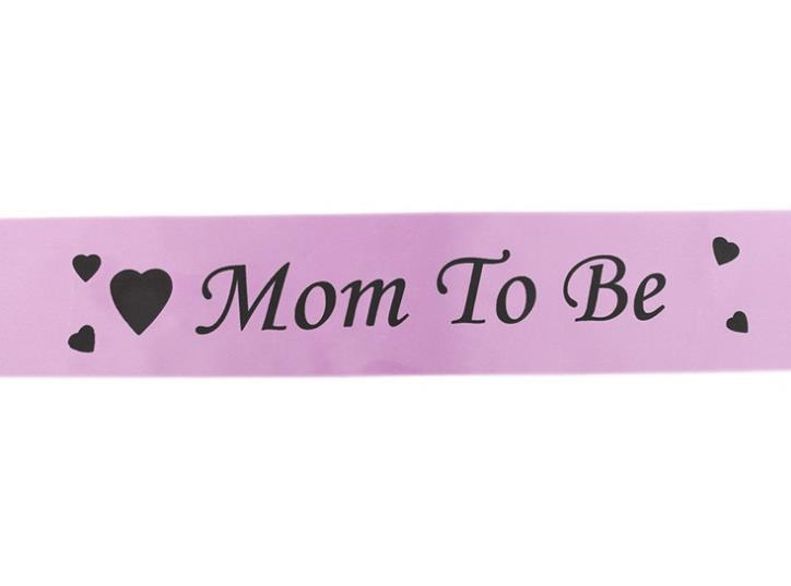 Baby Shower Party Sash Banner Ribbon Mum to be Party Favor Mom New
