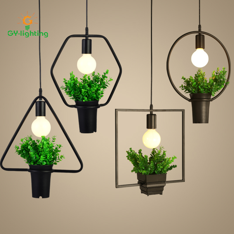 2017 Creative Iron Retro Plant Pendant Light  American Style Restaurant Light Art Creative Living Room Simple Nordic Lights2017 Creative Iron Retro Plant Pendant Light  American Style Restaurant Light Art Creative Living Room Simple Nordic Lights