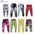 Sportlover 3D  Printed Joggers Sweatpants Emoji/Skull/Rose/Galaxy Space/Bananas/Bullet Trousers Hip Hop