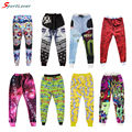 Sportlover impresso 3d emoji basculadores sweatpants/crânio/rose/galaxy espaço/banana/bala calças hip hop