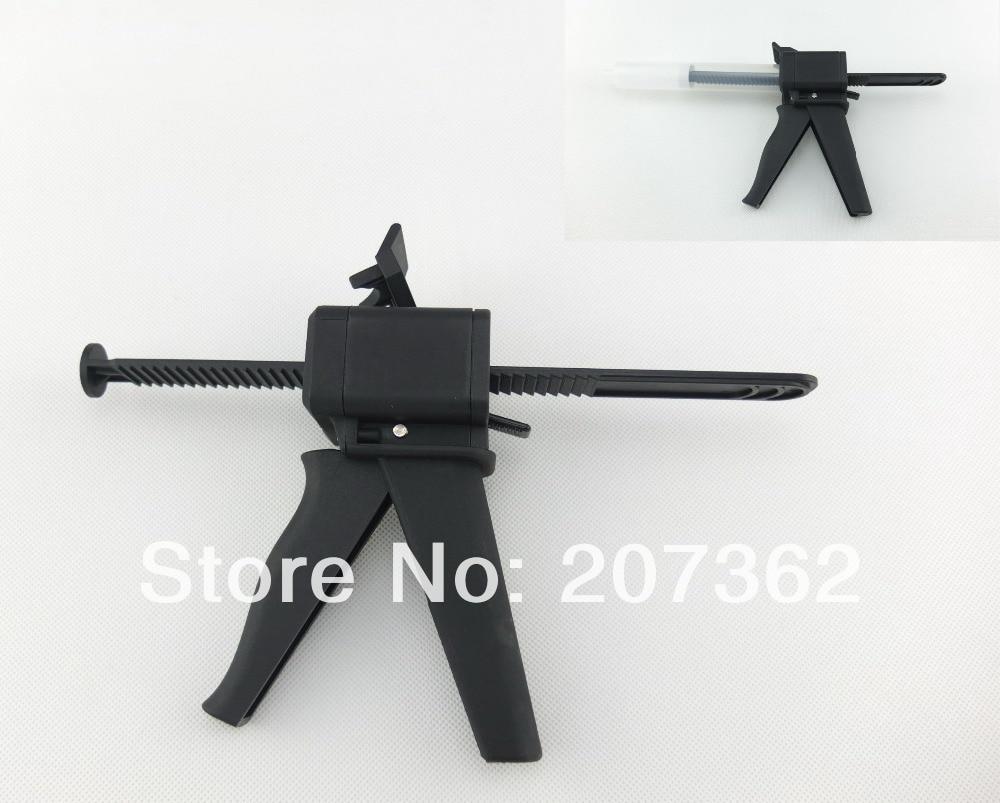 Syringe Gun with 55cc plunger universal for 55cc & 30cc EFD syringes 100x 10ml syringe of 44