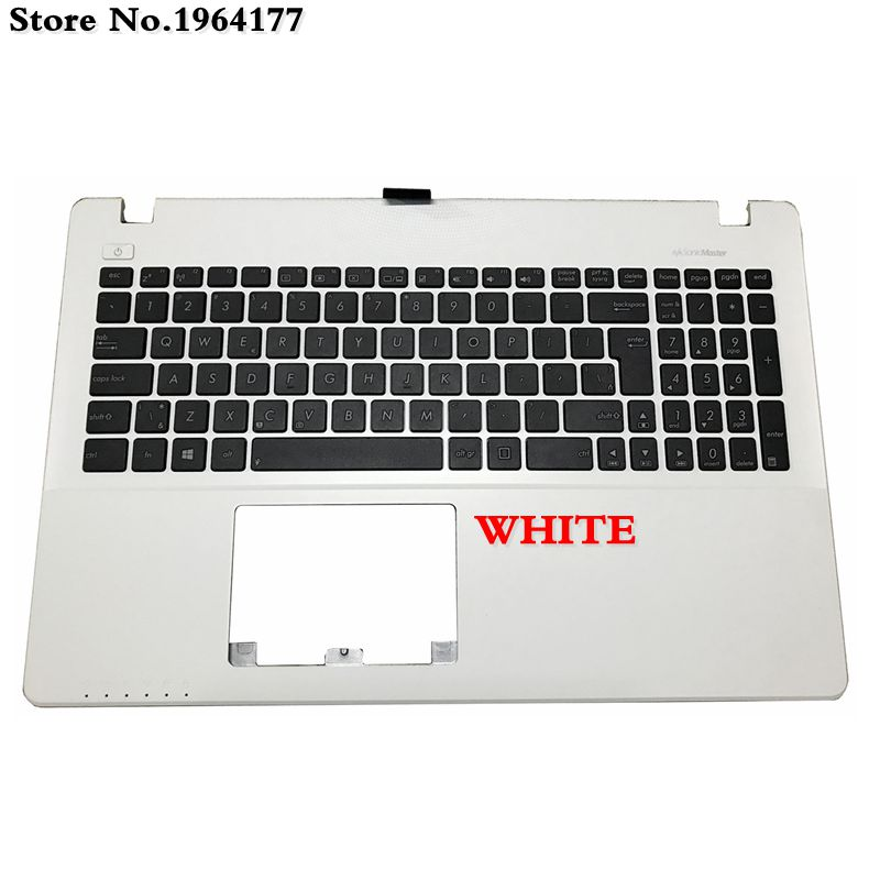 New Laptop Palmrest Upper Cover For ASUS X550C K550 A550C A550VB Y581C X550 K550JK FX50J Y581CL X552W W50J Keyboard Bezel