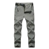 6XL 7XL 8XL Big Size Men Hiking Camping Pants Windproof Quick Dry Outdoors Soft Shell Trousers Trekking Hiking Sweatpants