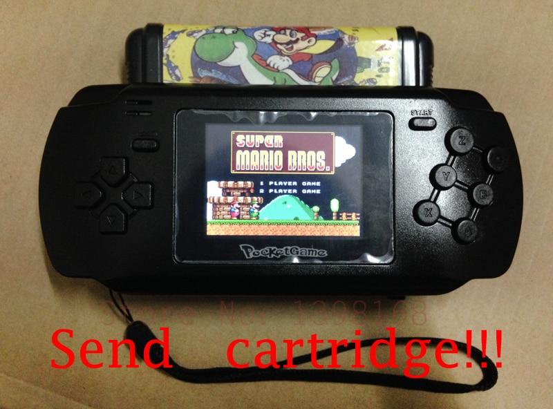 2016 16Bit SEGA MD pocket handheld game consoles Board Games ,support use normal MD card slot.megadrive, built-in 68 in 1 games энергетик md масс земляника 1 68 кг