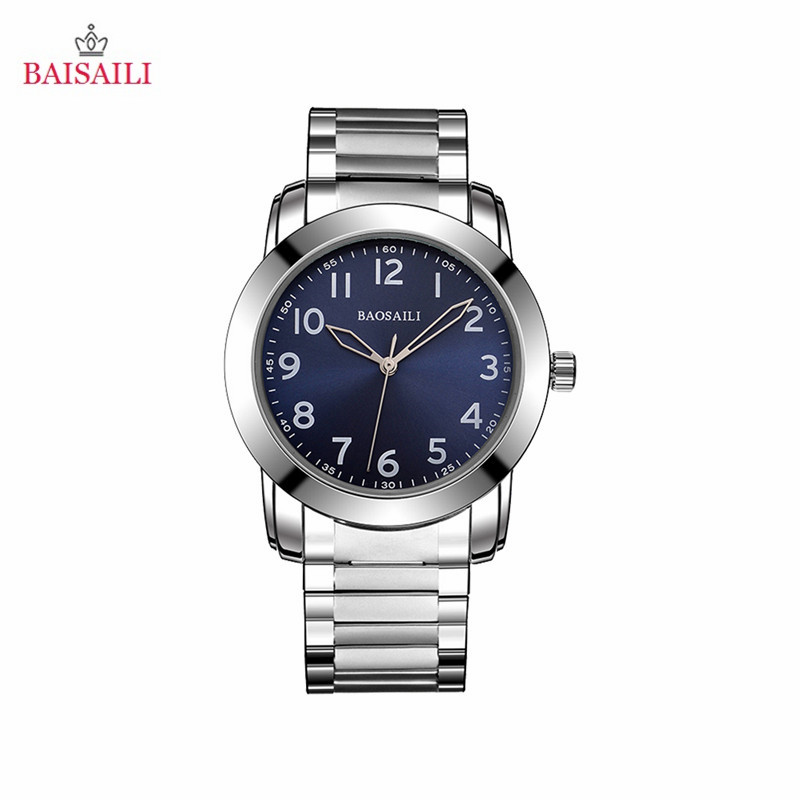 Fashion Stretchable Watchband Quartz Watch Men Alloy Analog Wristwatch Battery Operated Waterproof Watch Easy Read Round Dial 30Fashion Stretchable Watchband Quartz Watch Men Alloy Analog Wristwatch Battery Operated Waterproof Watch Easy Read Round Dial 30