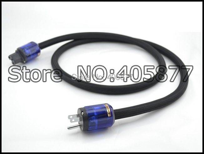 HI Fi cable OFC Power cable with P 037 Rhodium plated Us power plug