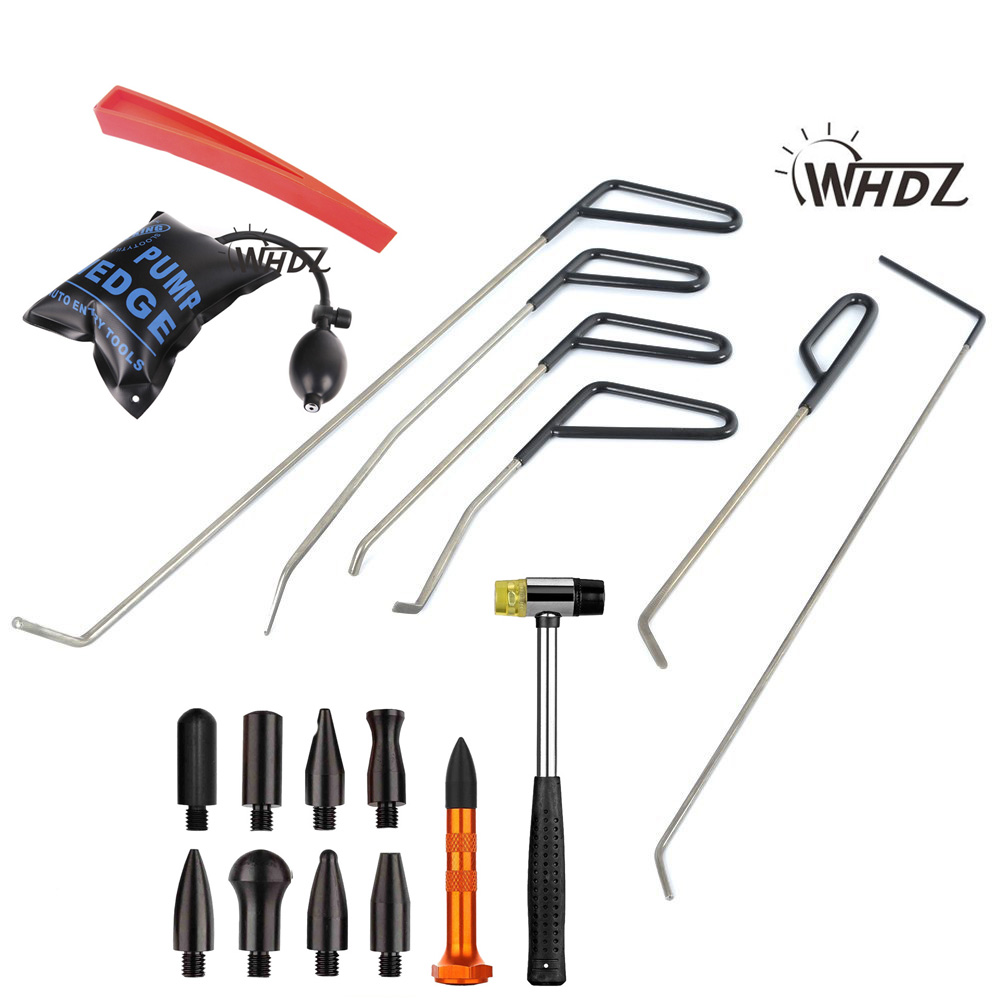 WHDZ PDR tools PDR Rods Hooks Car Crowbar auto body Dent repair tools Knock Down Tools Tap Down Pen Hammer Knock downWHDZ PDR tools PDR Rods Hooks Car Crowbar auto body Dent repair tools Knock Down Tools Tap Down Pen Hammer Knock down