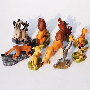 Image 3 - Brinquedos de rei de leão, simba nala timon pumbaa, modelo bonito dos desenhos animados, animal, brinquedos para crianças
