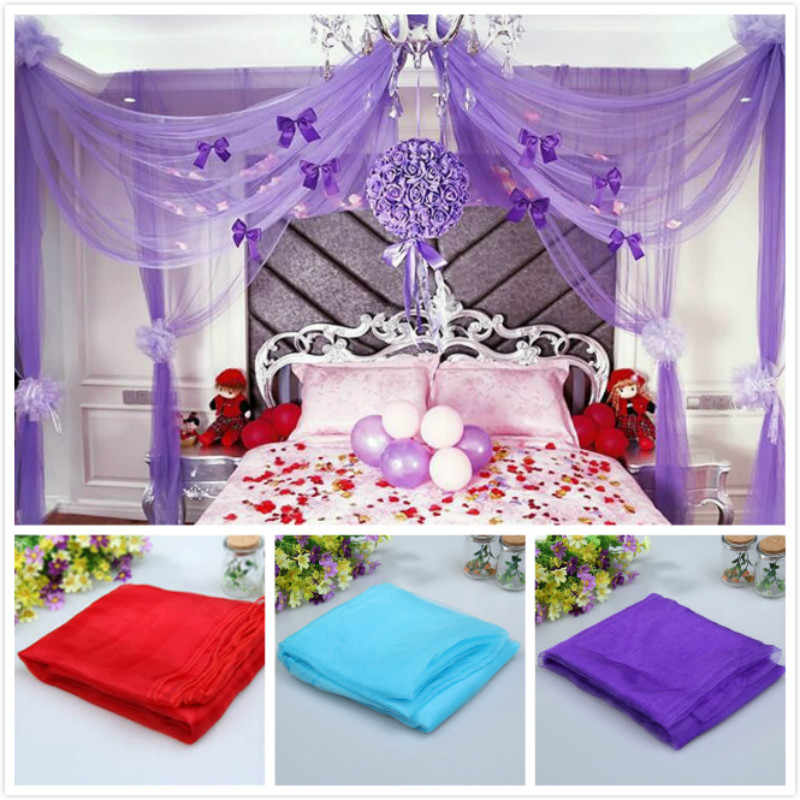 72cmX10m Tulle Organza Roll Spool Craft Sheer Gauze Wedding Table Birthday Party Decoration 7ZSH015C