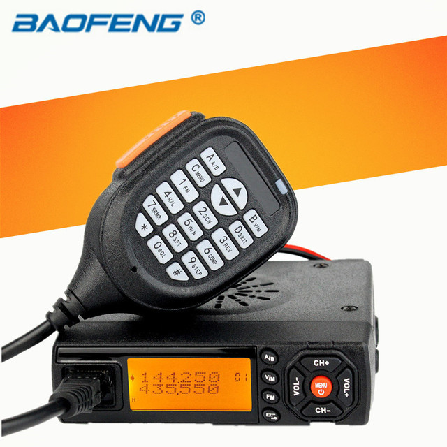 US $65 37 |Sale! Car Walkie Talkie Radios Comunicador baojie bj 218 Long  Range Mini Mobile Radio Transceiver VHF/UHF Ham CB Radio For Truck-in  Walkie
