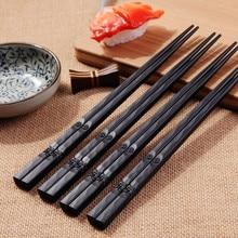 1 пара японских палочек для еды из сплава, Нескользящие палочки для суши, палочки для еды, китайские подарочные палочки для еды, многоразовые палочки для еды, 18 октября