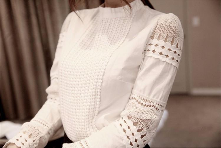 HTB1BCLlOFXXXXawXFXXq6xXFXXXK - Summer plus size casual Cotton ladies white lace