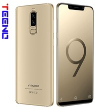 VMobile S9 Mobile Phone Android 7.0 5.84″ Full Screen 19:9 2GB RAM 16GB ROM 13MP Camera Face ID Dual Sim Quad Core Smartphone