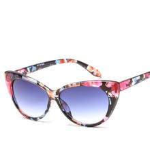 2019 cat eye triangle cute sexy retro cateye sunglasses women brand designer bla