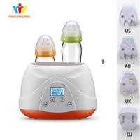Baby Feeding sterilizer Bottle Warmer Heater Babyfood Warm Universal Bottle sterilizer Milk Free 220V Electric Warmer Milk Food