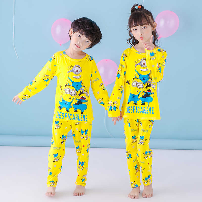 b71e16356 Detail Feedback Questions about Girl Pajama Sets Long Sleeve Autumn ...