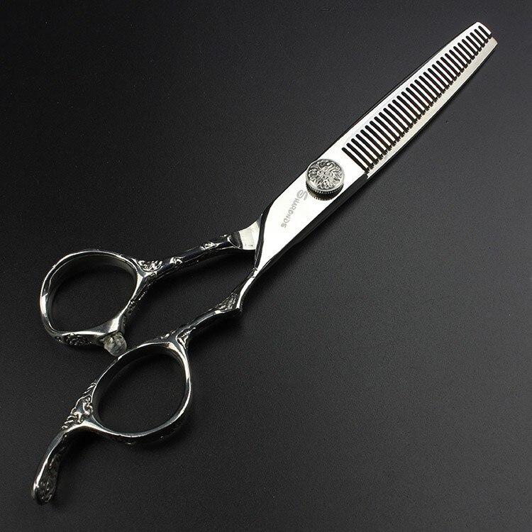 Ножиці для перукарень 7 дюймів - Догляд за волоссям та стайлінг - фото 4
