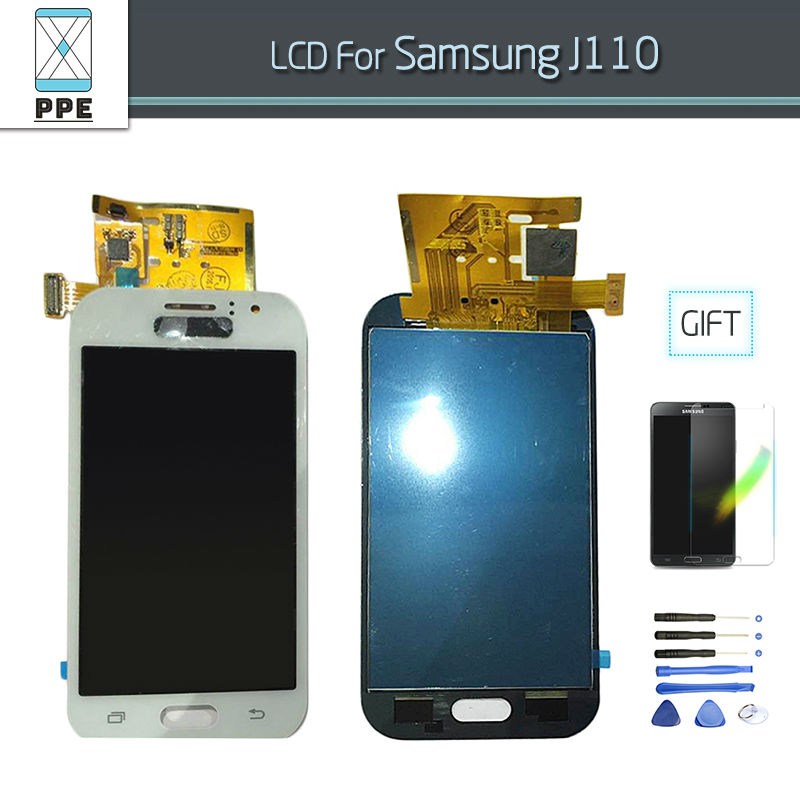 LCD For Samsung Galaxy J1 Ace J110 J110F J110M LCD Digitizer Touch Screen Display Pantalla Assembly Replacement