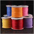23 Colors Pick, 1.5mm Round Waxed Cord Cotton Cords, Wax Line/ Rope / Thread for Necklace Bracelet DIY Jewelry Findings CX12.2
