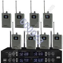 Беспроводная цифровая система микрофона micwl 8 beltpack наборы