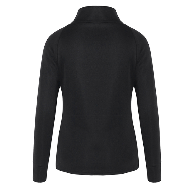 Women's Casual Black Pullover