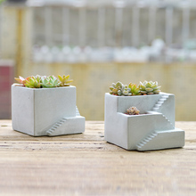 New Silicone Cement Molds for Concrete Flowerpot Castle Shape Mould Handmade Home Decoration Tool