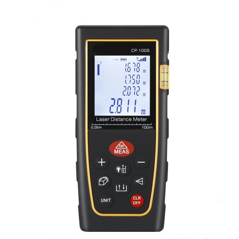 Medidor láser de distancia de 40 M 60 M 80 M 100 M 120 M 150 M láser telémetro cinta láser rango de buscador de medida metro cinta digital láser metro