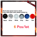 Wholesale 2.5M 22mm Parking Assistance Reversing Radar Rrobe Parking Sensors black blue gray red white silver 6 Color