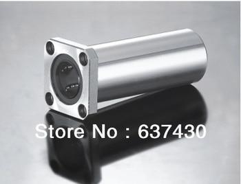 50pcs/lot LMK8LUU  8mm  long square flange linear bearing for cnc