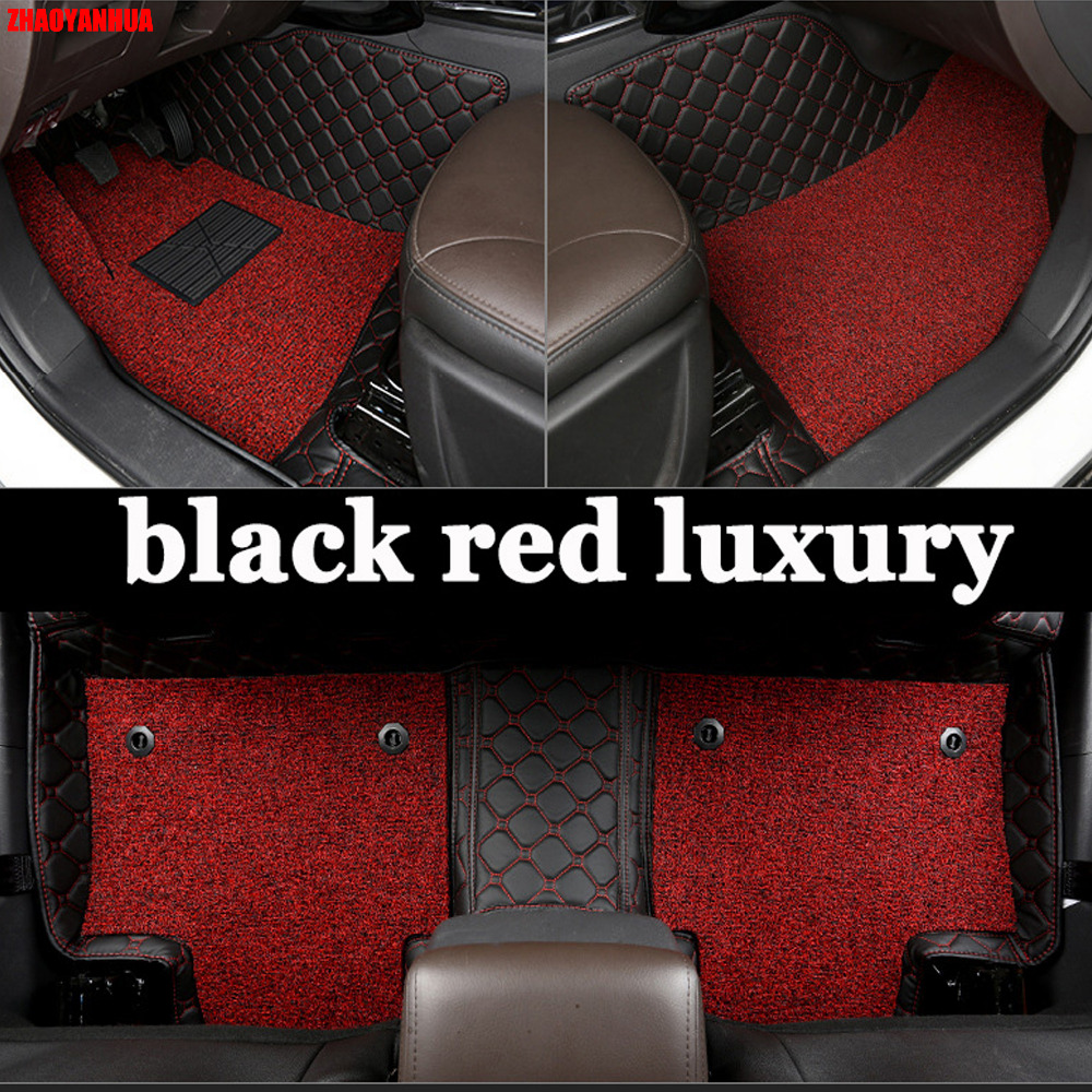 Zhaoyanhua car floor mats for toyota camry xv40 50 6th 7th generation 6d all weather car styling carpet floor liners 2006 now