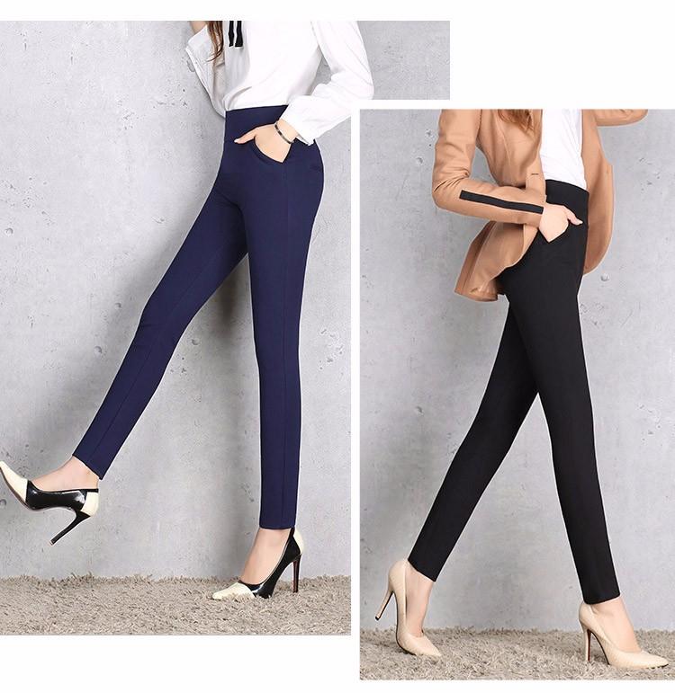 2016 New Autumn Winter Women Casual Stretch Leggings Pencil Sport Pants Skinny Leggings Women\'s Clothing Trousers Plus Size A661 a