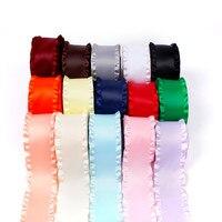 5cmX10 yards skirt silk satin ribbon hoop hair ornaments bow diy material belt ribbon