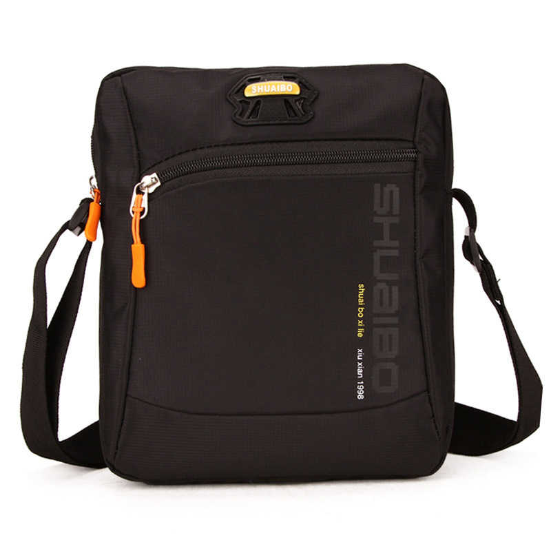 Flap Crossbody Bags For Men High Quality Wateproof Oxford Single Shoulder Strap Messenger Bag Shoulder Bags For Male 2018 New