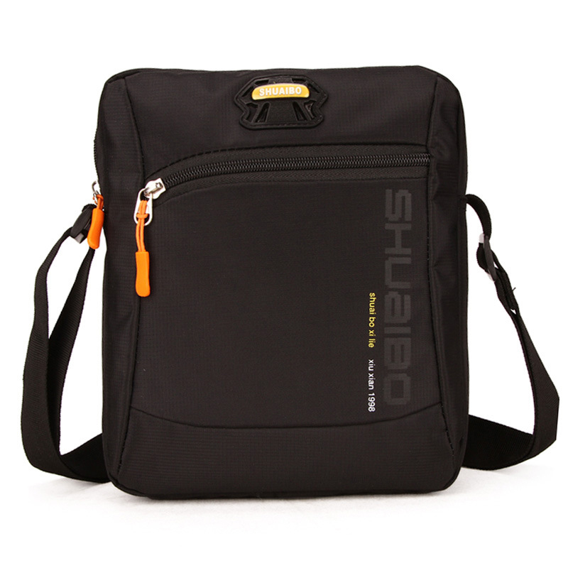 Flap Crossbody Bags For Men High Quality Wateproof Oxford Single Shoulder Strap Messenger Bag Shoulder Bags For Male 2018 New