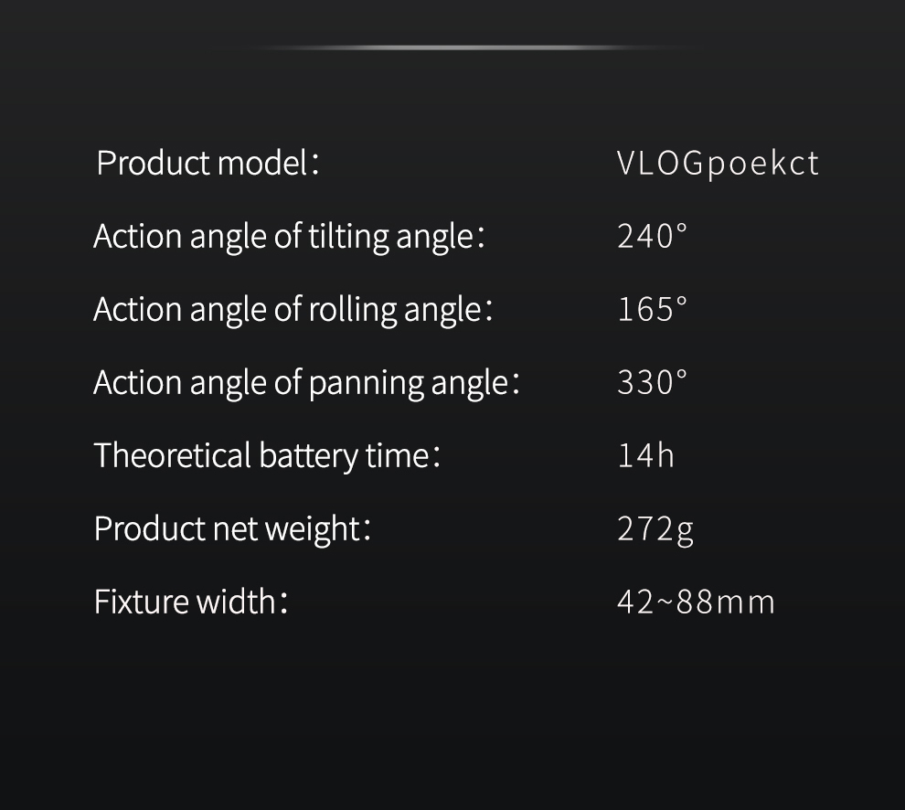 Stabilisateur FeiyuTech Vlog Pocket Foldable 3 Axis prix maroc