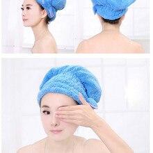 New Beauty Shower Bathing Quick Dry Hair Drying Hat Cap Bath